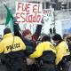 Con protestas, reciben a EPN en la Casa Blanca #UStired2