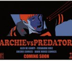 Ve la portada del cómic de Archie vs Depredador