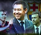 Bartomeu apagó todo tipo de rumores sobre Messi, y el Barcelona en ESPN