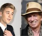 La pelea y posterior amistad de Keith Richards y Justin Bieber