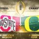 En vivo: Ohio State vs Oregon, por el campeonato nacional de la NCAA