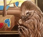 Chewbacca como protagonista de pinturas clásicas
