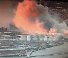 Incendio en un centro comercial en Brooklyn, Estados Unidos