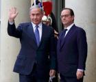 El primer ministro de Israel se invitó solo a la marcha de París