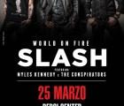 Slash en México, Guadalajara y Monterrey
