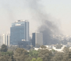 Reportan incendio en Torre Murano