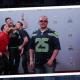 Los photobomb de Chris Evans, Jimmy Fallon y Chris Pratt en el Super Bowl
