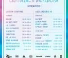 Checa los horarios del Carnaval de Bahidorá
