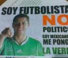 """""""Chicharito"""" no dio permiso para usar su imagen en propaganda política"""