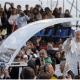 El Papa recogió una pizza...en el papa-móvil