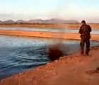 Policía de Sinaloa mata cocodrilo a tiros; era un riesgo: Protección Civil