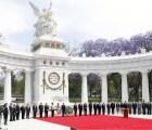 Conmemora Peña Natalicio de Benito Juárez...en 15 minutos