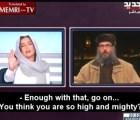 Forma en que periodista libanesa calla a líder islamista causa furor