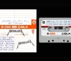 Reeditarán el demo de Metallica...en cassette