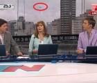Otro OVNI aparece durante transmisión de programa, ahora en Argentina