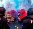 Alemania: enfrentamientos durante protestas contra BCE, 350 detenidos