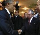 Y en la imagen del día.....Obama y Castro en la VII Cumbre de las Américas
