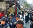 Metrobús choca en Balderas; una persona muere