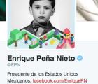 Y en la imagen del día... EPN pone foto de niño en su cuenta de Twitter