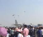 Se estrella avión en Santa Lucía, Edomex durante Feria Aeroespacial