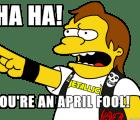 Las mejores bromas del April Fools' Day