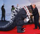 Y en la imagen del día... Godzilla es nombrado embajador de turismo en Tokio