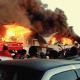 Se reporta incendio en la Central de Abasto, está controlado
