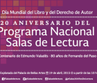Así se festejará el Día Mundial del Libro en Bellas Artes (+ entrevistas)