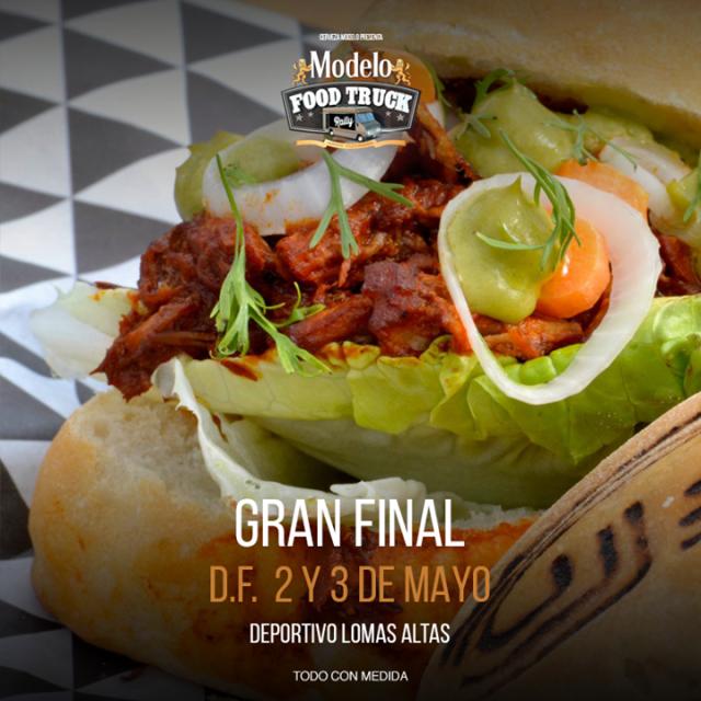 ¿Quieren comer como reyes? Los invitamos a la gran final de #ModeloFTRally