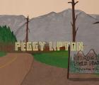 """La entrada de """"Twin Peaks"""" hecha con recortes de papel"""