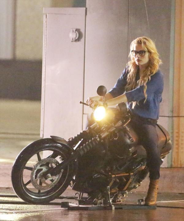 Le re doy: Nuevas fotos de Margot Robbie como Harley Quinn
