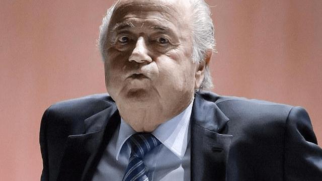 Blatter se quedó al frente de la FIFA luego del retiro del Principe Alí
