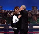 Julia Roberts y su último beso con David Letterman