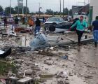 Galería: Tornado en Ciudad Acuña, Coahuila deja un saldo de 10 muertos