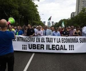 Taxistas anuncian marchas y bloqueos contra #Ubersequeda