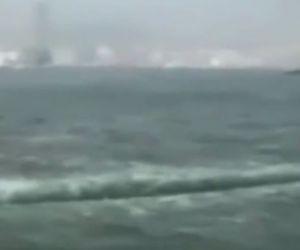 Se abre el mar de China como en la historia de la Biblia… WTF?!