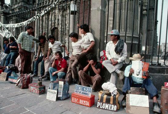 Desempleo Mexico