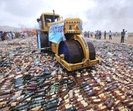 Desperdicio de botellas 1