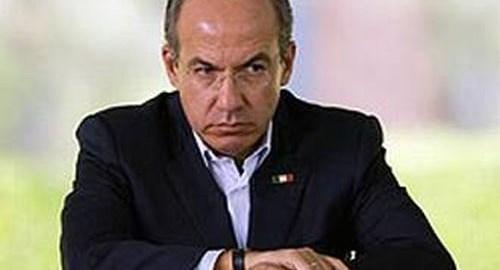 Calderon rechazado