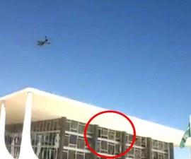 Brazilain jets break courthouse windows 1.jpg