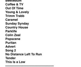 Setlist-Blur-Hyde-Park-2012