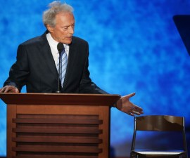 Clint eastwood silla vacia obama