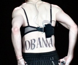 Madonna Obama