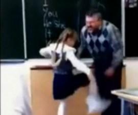 Niñitapateaalprofesor