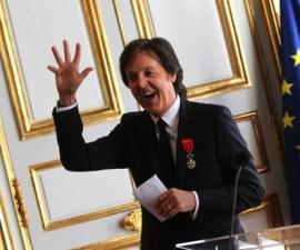 Paul McCartney y François Hollande2