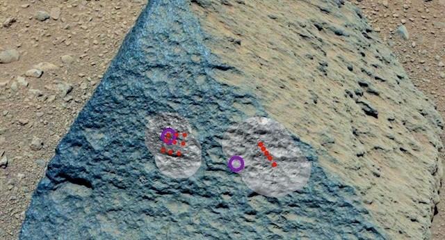 Curiosity roca
