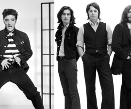 elvis the beatles