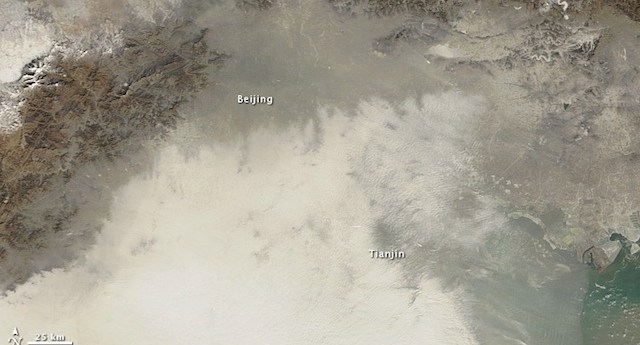 Beijing contaminación