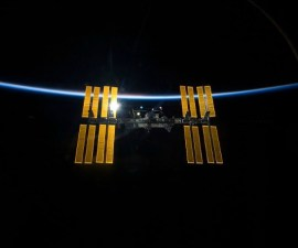 ISS en órbita