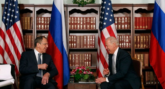 Joe Biden, Sergey Lavrov